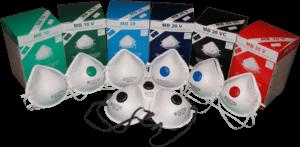 Zdjęcie oferowanych półmasek filtrujących