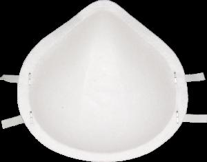 Zdjęcie półmaski przeciwpyłowej (ochronnej, filtrującej) P1 - MB 10 FFP1 - tył