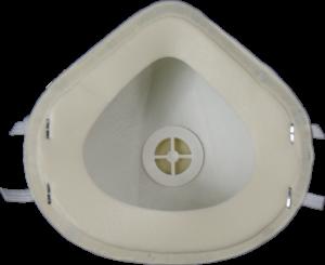 Zdjęcie półmaski przeciwpyłowej (ochronnej, filtrującej) P3 - MB 30V FFP3 - przód